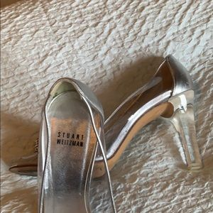 Stuart Weitzman evening pumps